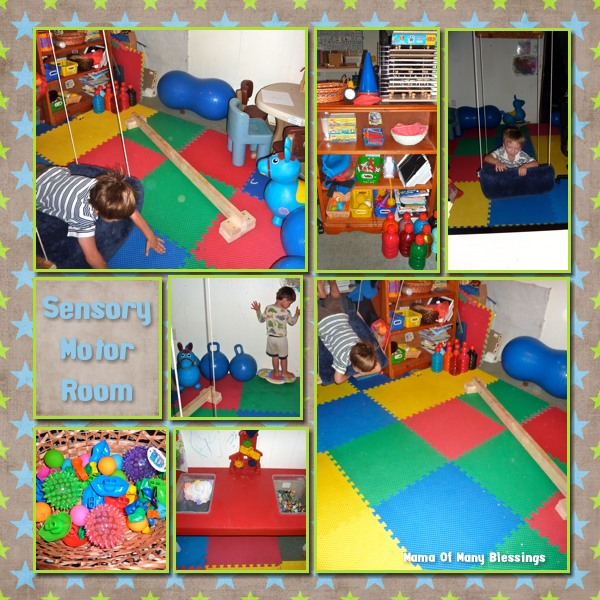 Baby Bedroom In A Box Special: Our Sensory Motor Room