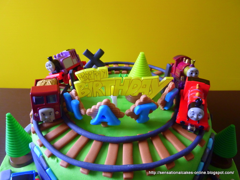 Cakes2share Singapore Thomas The Train Percy 3d Train Theme