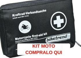 kit primo soccorso moto
