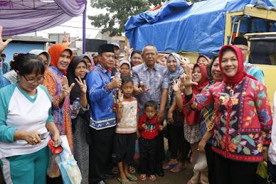 Wagub Bachtiar Buka Pasar Murah 9 Bahan Pokok di Pasar Wates
