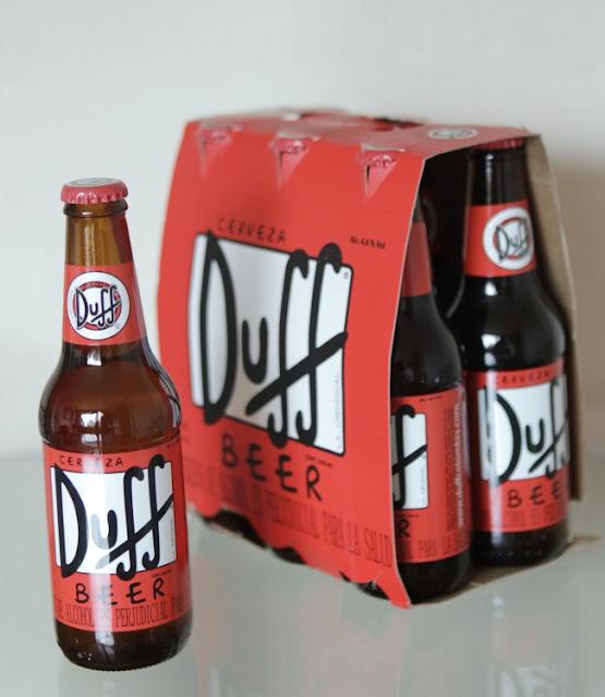 """""""Los Simpson"""" sacaran a la venta la cerveza Duff oficial"""
