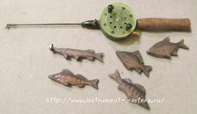 набор рыбака для ребенка 2-3 лет