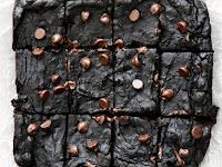Healthy Avocado Black Bean Brownies