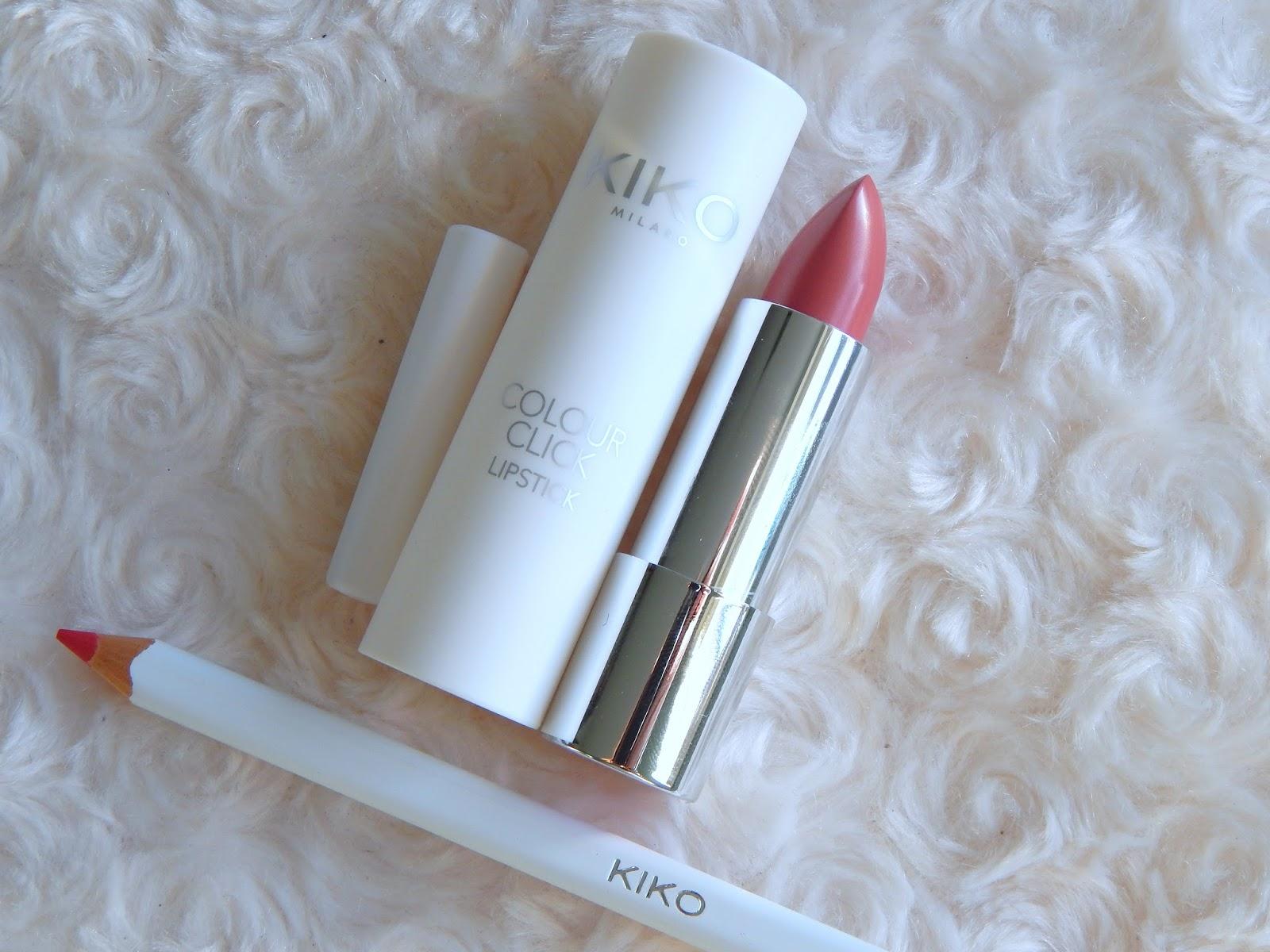 Kiko Colour Click Lipstick and Lipliner in 05