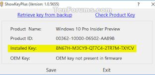 Begini Cara Menemukan Serial Key Windows 10 2