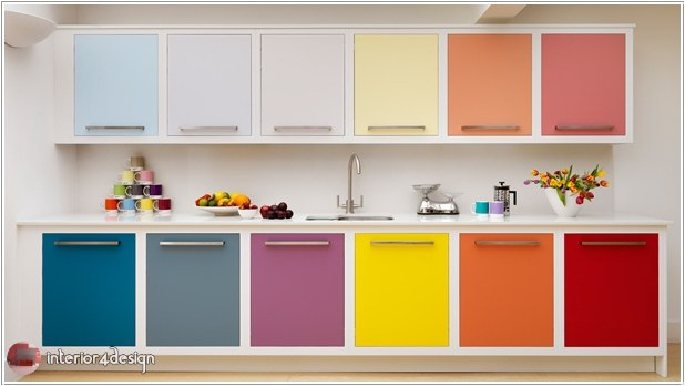 Colorful Kitchen Designs 2