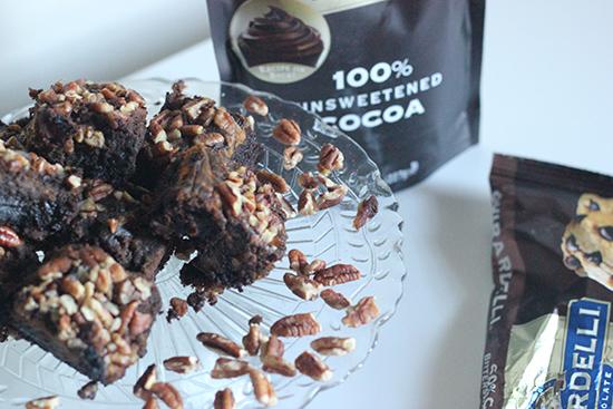 Ghirardelli Chocolate Pumpkin Pecan Brownie Recipe