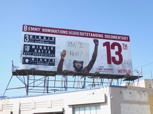 13th Emmy nominee billboard