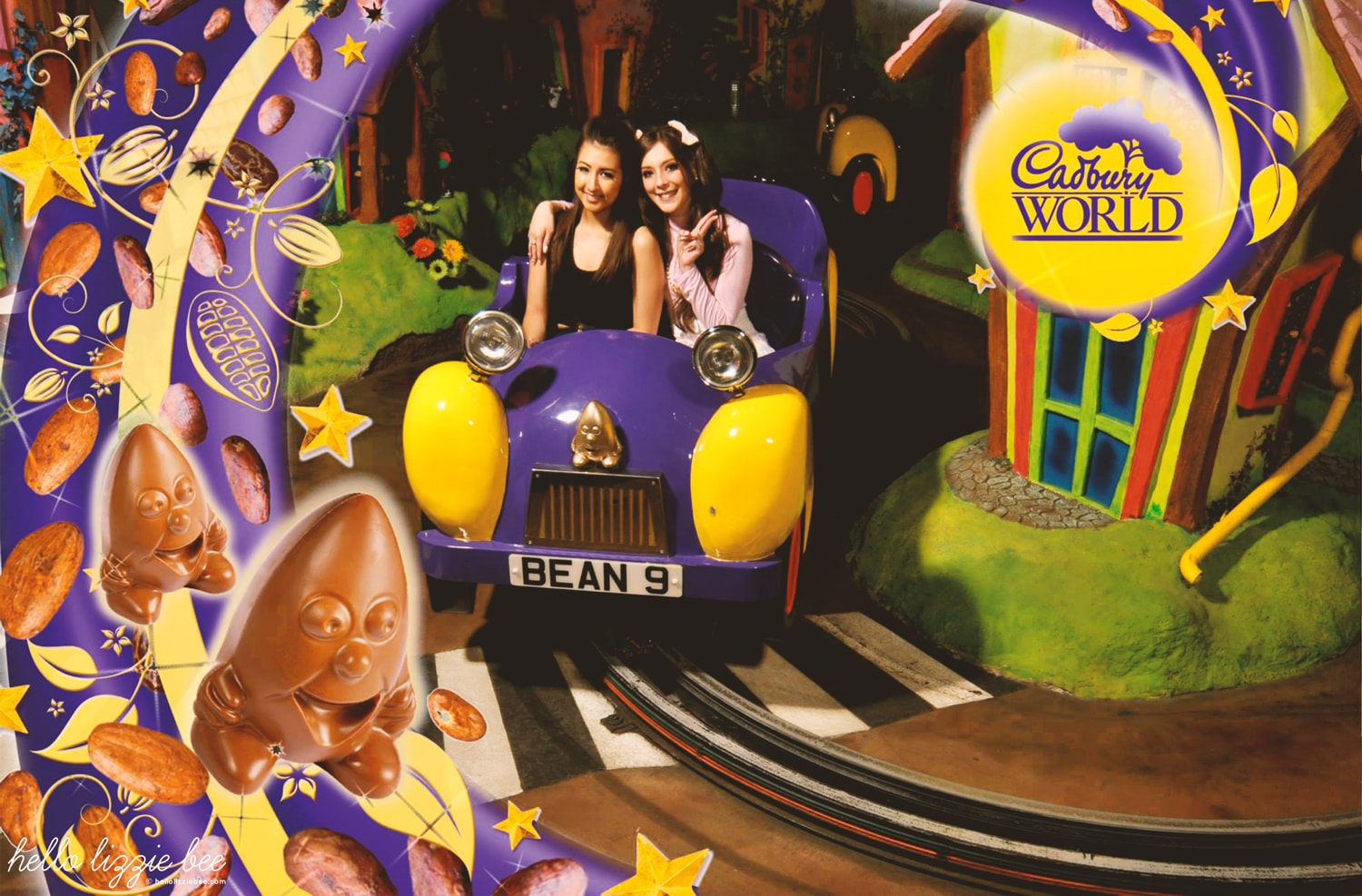 cadbury world bean ride