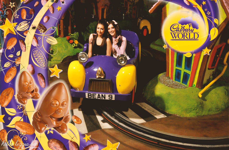 cadbury world bean ride