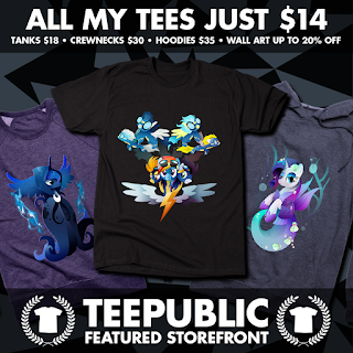 MLP Teepublic's May Sale: All tees just $14