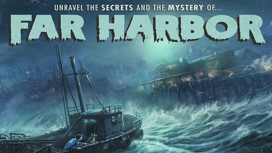 Fallout 4 Far Harbor Download Poster