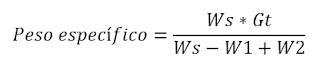 Peso especifico del suelo (Cohesivo, no cohesivo)