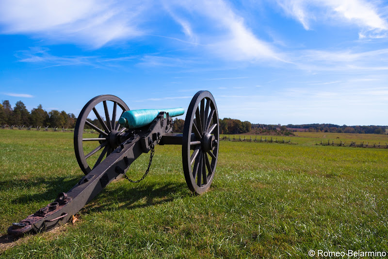 Matthews Hill Manassas National Battlefield Park Northern Virginia