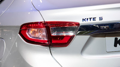 coming soon Tata Kite 5 Compact Sedan tail light  Hd Image