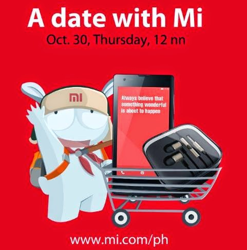 Xiaomi Redmi 1S and Mi Pistons Bundled for Php5,699 this October 30