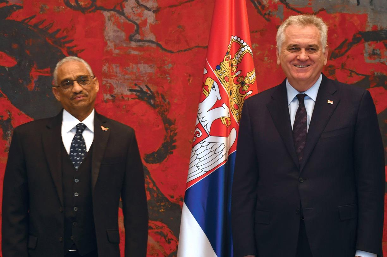 <Eritrea&#039;s Ambassador Presents Credential to Serbian Leader
