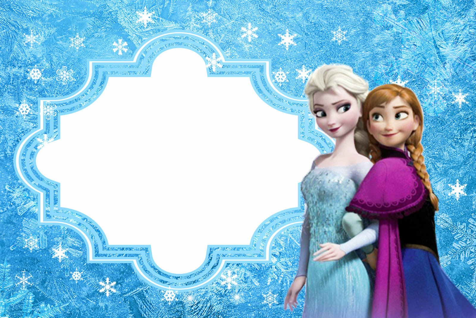 Frozen birthday card template yeniscale frozen birthday card template stopboris Image collections