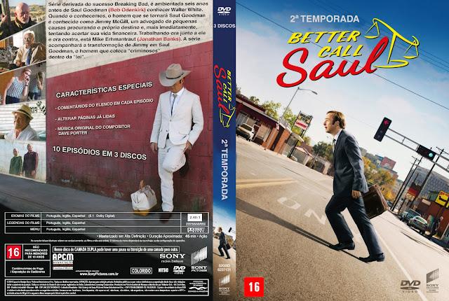 Capa DVD Better Call Saul Segunda Temporada Completa