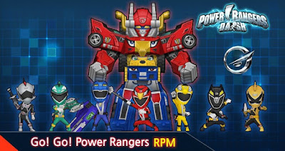 Power rangers dash for android