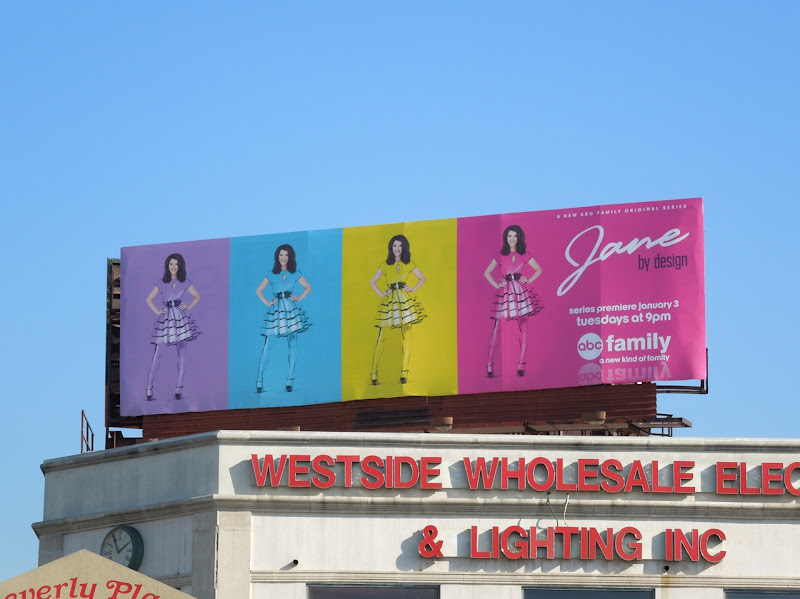 Jane By Design billboard