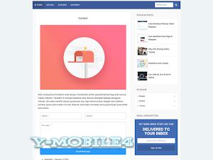 Cara Membuat Halaman Contact Us Pada Blogspot