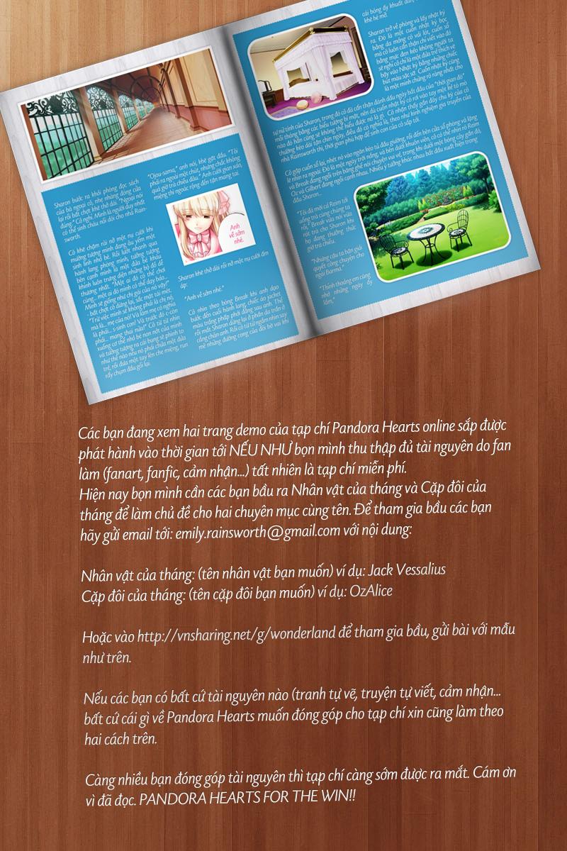 Pandora Hearts chương 067 - retrace: lxvii lacie trang 39