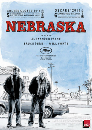 Nebraska 2013 Dual Audio BRRip 720p In Hindi English