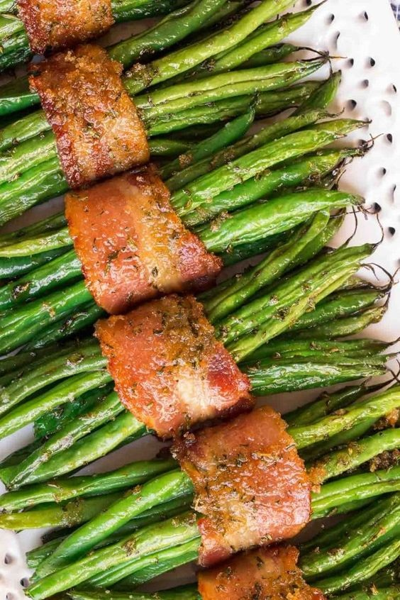 Make-Ahead Bacon Wrapped Green Beans
