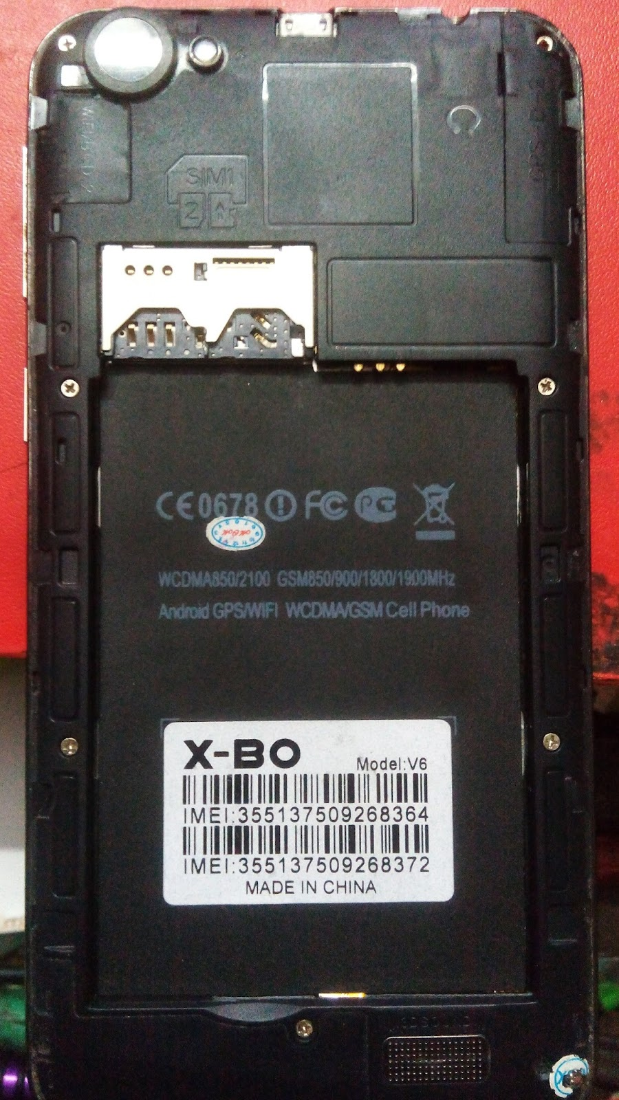 X-BO V6 MT6572 Official Stock Firmware (Flash File) Free