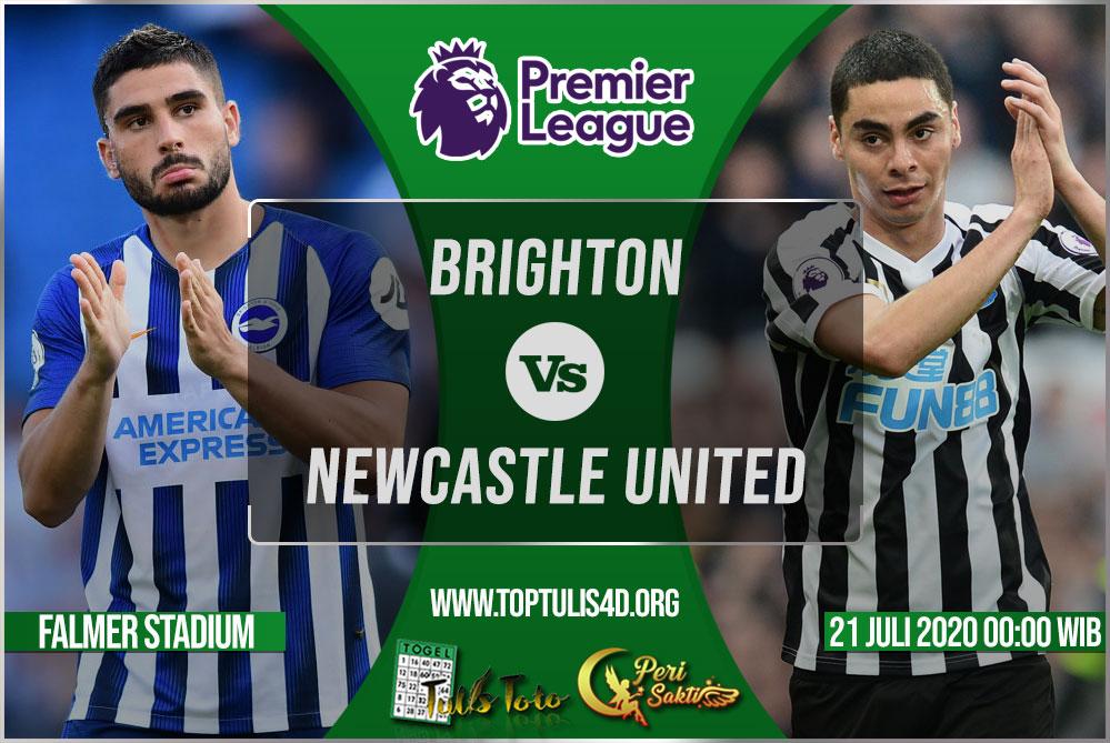 Prediksi Brighton vs Newcastle United 21 Juli 2020