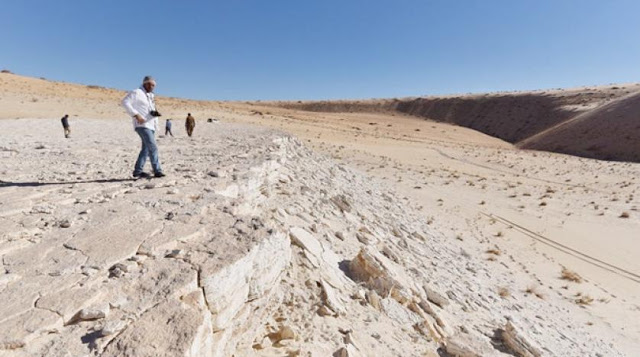 85,000-year-old human footprints discovered in Saudi Arabia