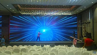 Đơn vị thi công màn hình led p2 chính hãng tại Vĩnh Phúc