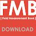 Field Measurement Book (FMB)