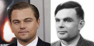Di Caprio como Alan Turing
