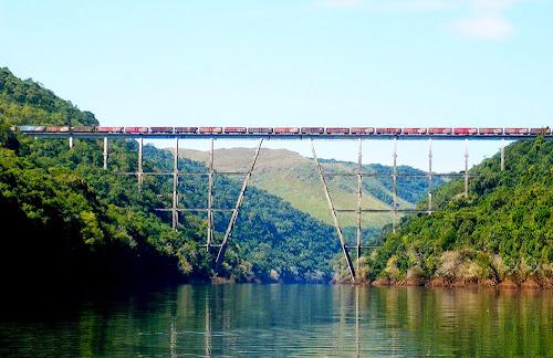 Ponte ferroviária do Rio Pelotas – Vacaria