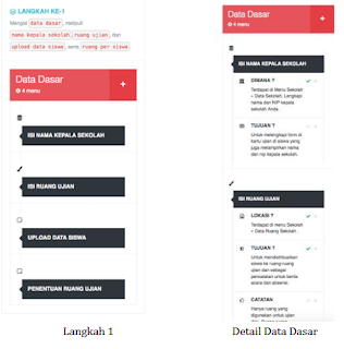 Langkah Mengisi data