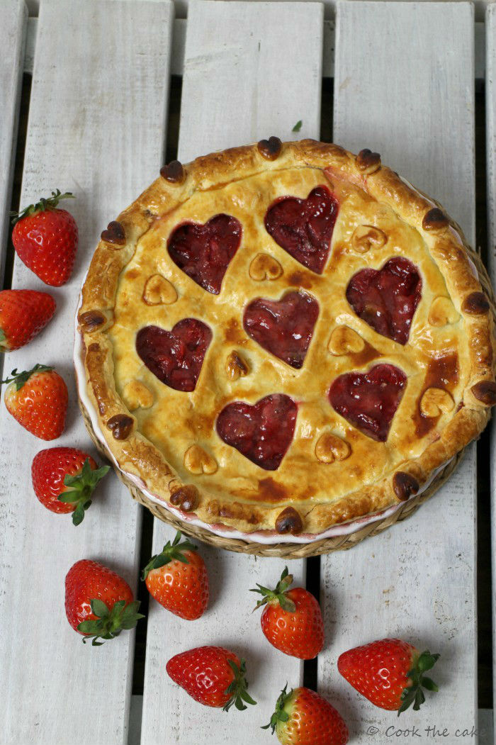 strawberry-pie, pie-de-fresas, san-valentin