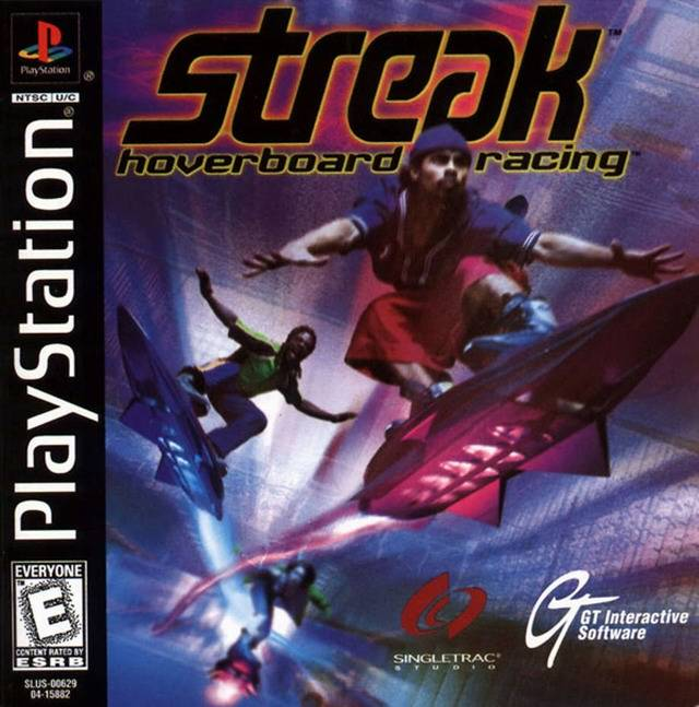 Streak - Hoverboard Racing - PS1 - ISOs Download