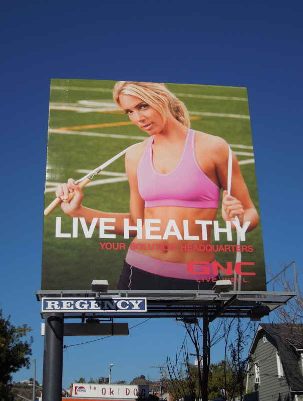 GNC female Solution HQ billboard