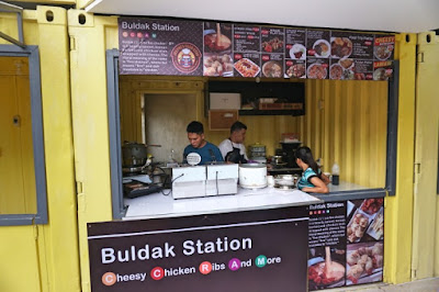 Buldak Station at Yello Cube Food Hub
