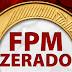 Na primeira cota de outubro, Marcelino Vieira e 47 municípios do RN ficam com o FPM com saldo zero