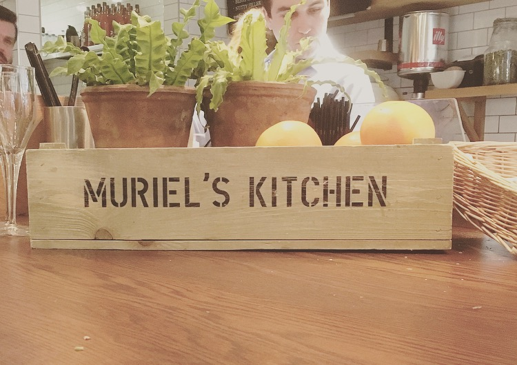 AN IMPROMPTU AFTERNOON TEA AT MURIEL'S KITCHEN