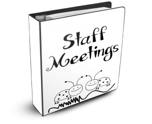 Want a FREE Staff Meetings Binder Cover?