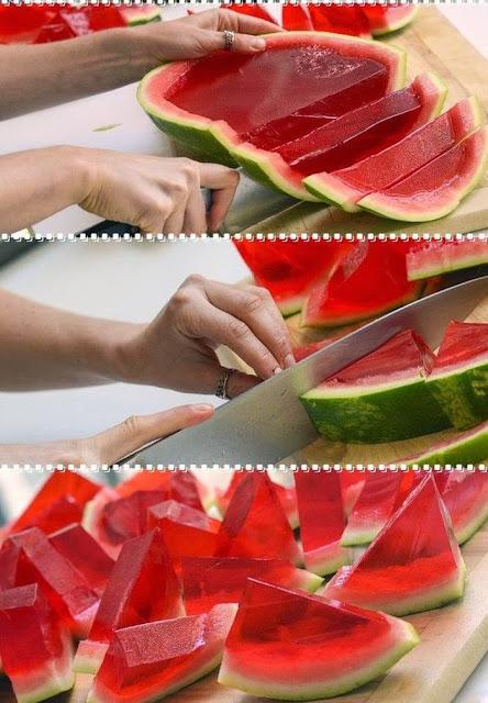 Γλυκά, επιδόρπιο, Εποχικά, ζελέ, Ιδέες, Καλοκαίρι, καρπούζι, κουζίνα, Σπιτικές Συνταγές, Συνταγές,