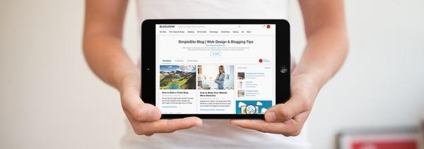 Bloglovin' tablet weergave blogs