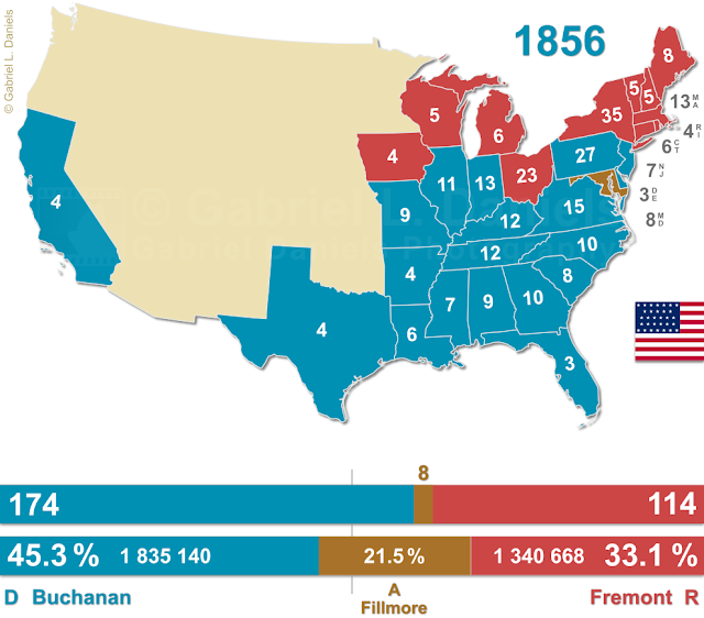 United States of America presidential election of 1856