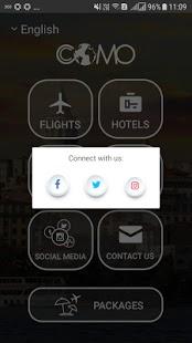 """تطبيق """" Comotravel """" لحجز الفنادق وشركات الطيران بأسعار خيالية"""