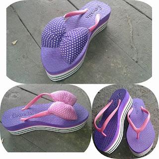 Sandal Model Terbaru (Sandal Khas Tasik)