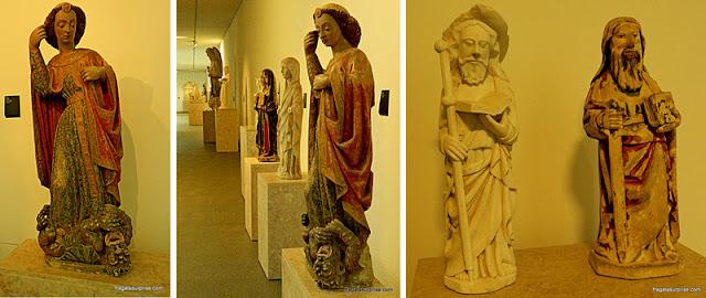 Escultura sacra no Museu Nacional Machado de Castro em Coimbra